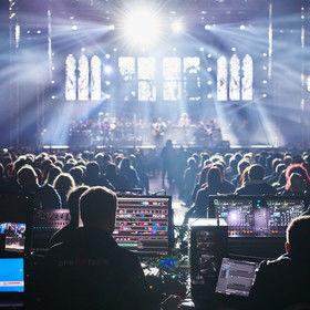 Tour s legendární kapelou Smokie (zvuk, světla, rigging, podium)