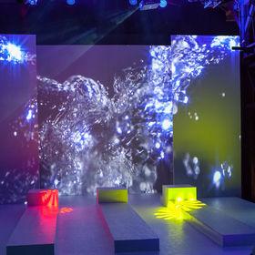 Videomapping indoor
