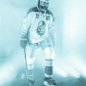 Efekty při vstupu hokejistů v Kladnu